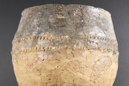 Urn found in burial mound